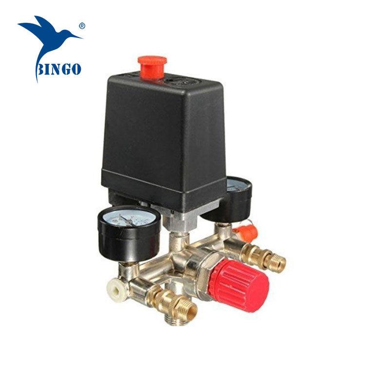 125psi 1 port levegő kompresszor nyomáskapcsoló szabályozóval