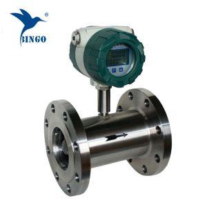 rozsdamentes acél ionmentes víz turbina áramlásmérő érzékelő