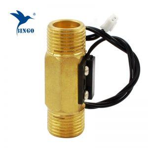 DN15 mágneses sárgaréz víz áramláskapcsoló