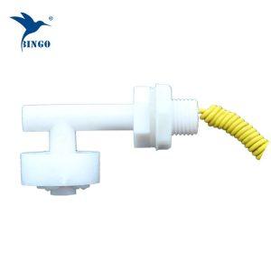 Vízszintes mini L alakú műanyag Float Switch a víztartályhoz