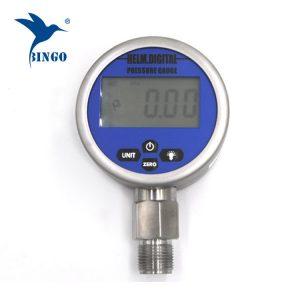 Intelligens vákuumos digitális nyomásmérő, LCD, LED kijelző, 100MPa-es szenzor