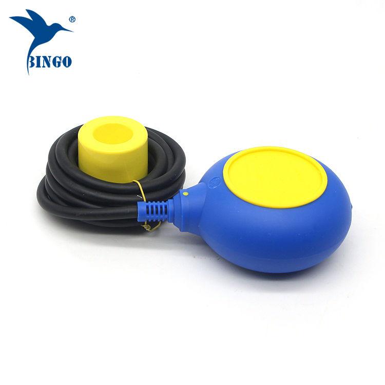MAC 3 típusú szintszabályozó sárga és kék színkábel úszókapcsolóval