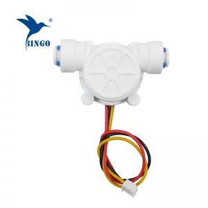 g1 / 4 pe cső 0,2-8 l / perc 3,5-12vdc vízáramlás érzékelő