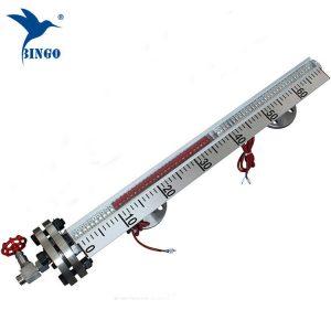 Oldalra szerelt SUS304SUS316L mágneses szintmérő