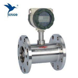 Turbina üzemanyagfogyasztás áramlásmérő Dízel üzemanyag-áramlásmérő