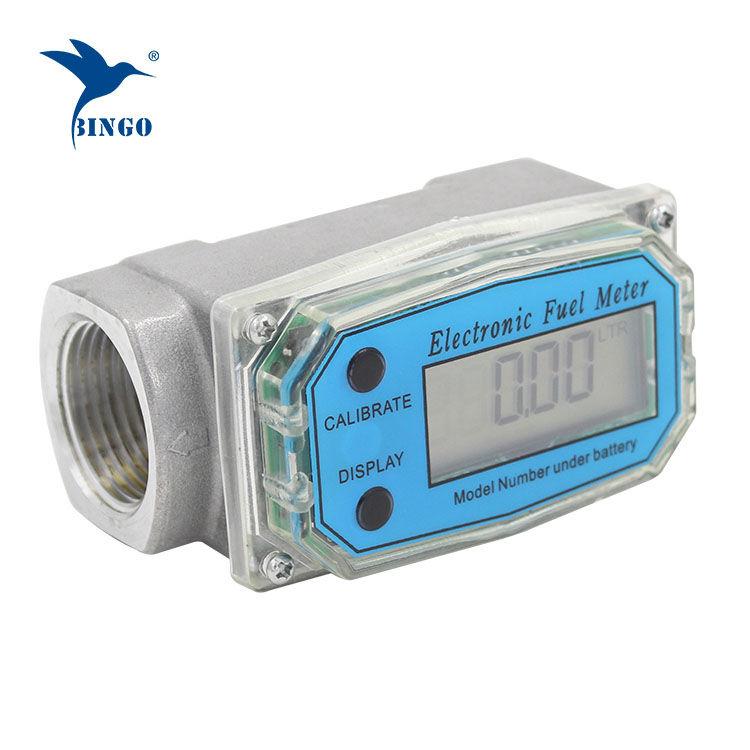Turbina vízáramlásmérő olajra, dízelre vagy benzinre