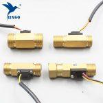 """új vízáram kapcsoló g1 / 2 """"réz csarnok hatása folyadékáramlás érzékelő kapcsoló áramlásmérő műszer 1 30l min"""