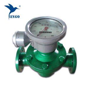 ovális sebességmérő dízel üzemanyag áramlásmérő
